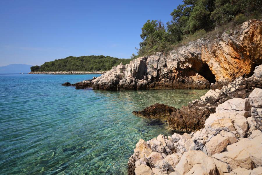 Bay In Krk Croatia