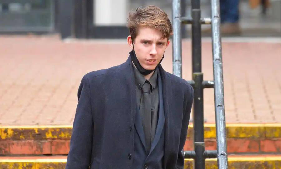 Ben John Departing Court