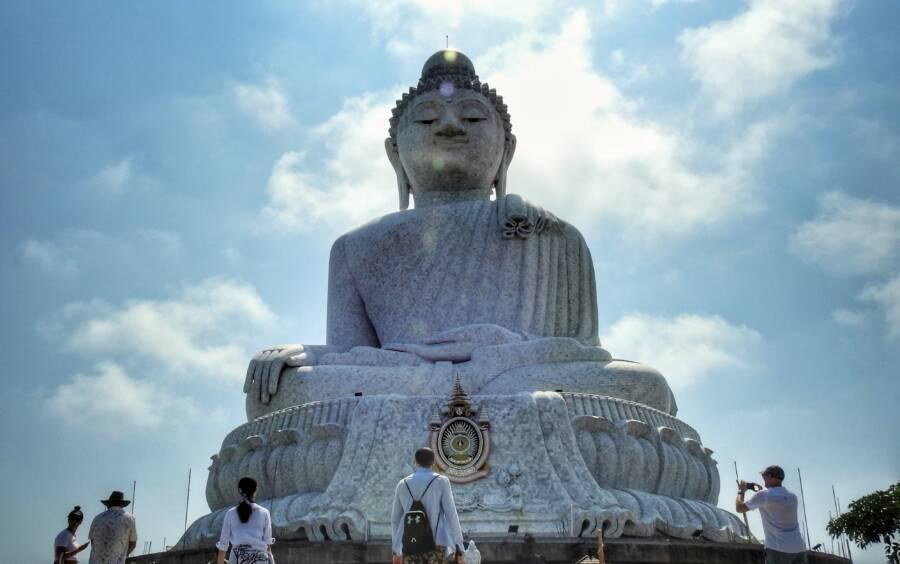 Big Buddha Statue Phuket Thailand