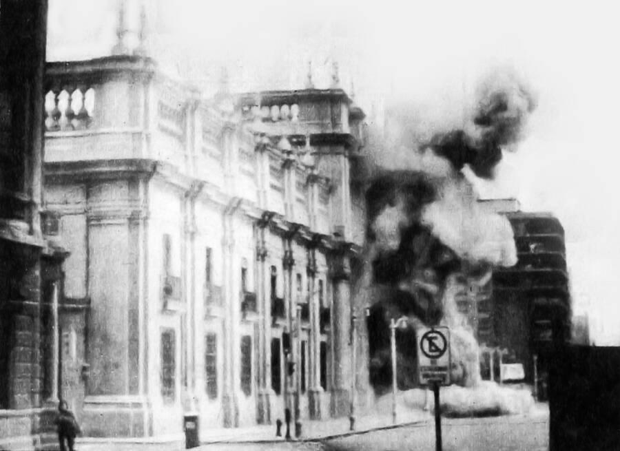 Bombing Of La Moneda