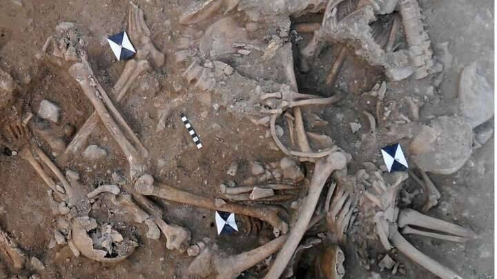 Christian Crusaders Mass Grave