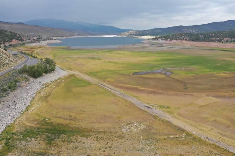Dry Rockport Reservoir