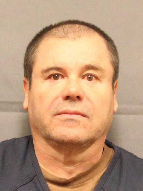 El Chapo's Mug Shot