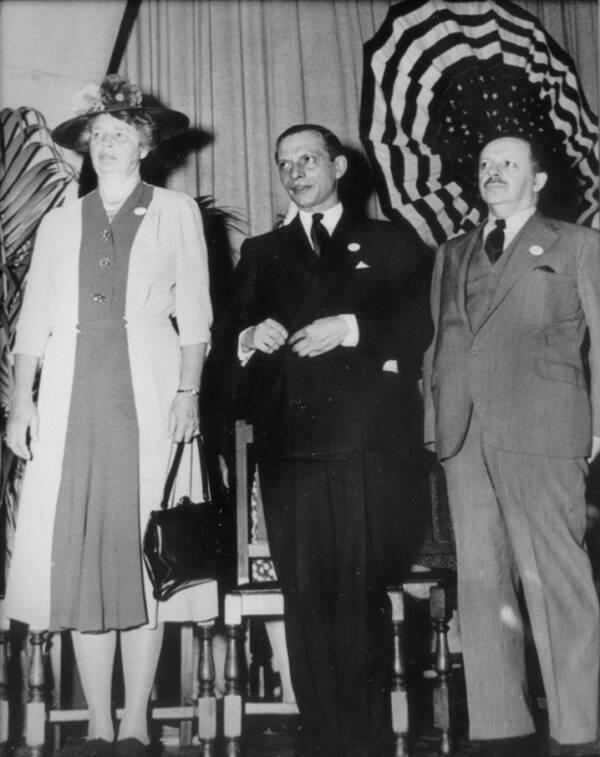 Eleanor Roosevelt And Edward Bernays
