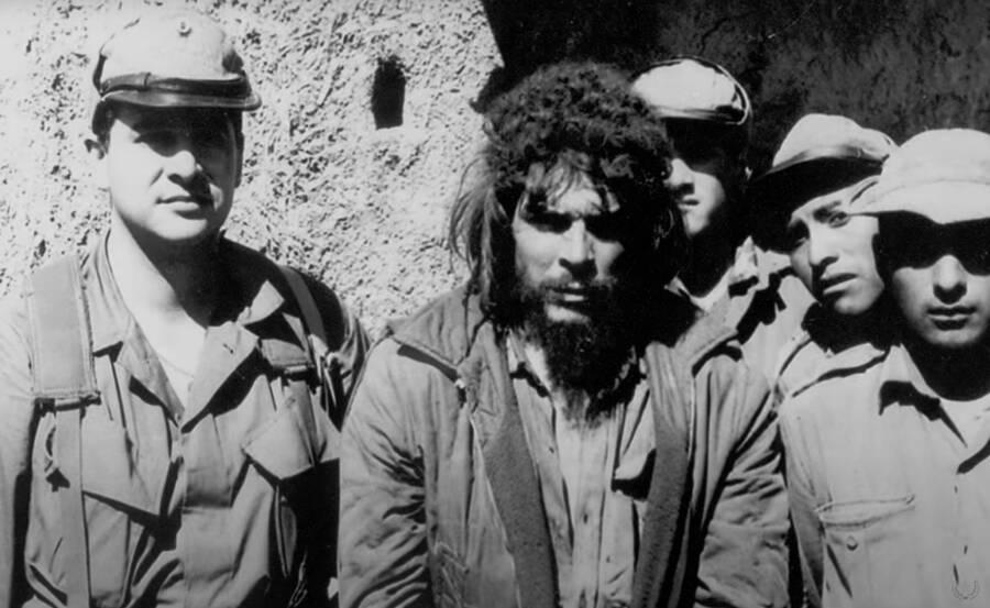 Felix Rodriguez And Che Guevara