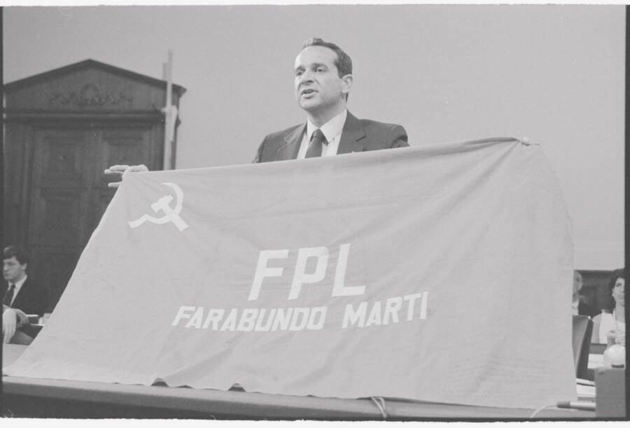 Felix Rodriguez Guerilla Flag 1987