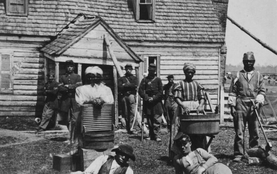 Former Slaves Union Camp