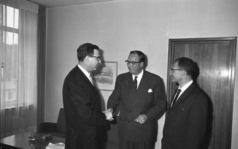 Georg Ferdinand Duckwitz In 1960