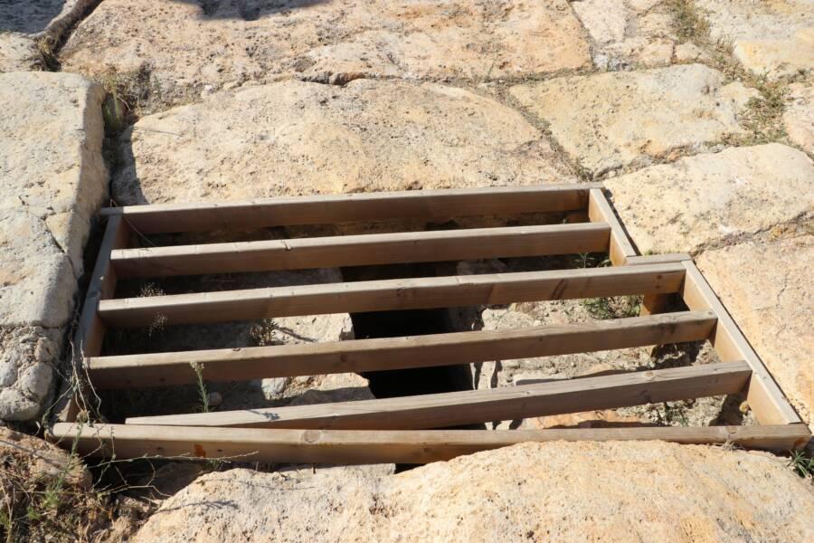 Grate Of Tripolis Sewage System