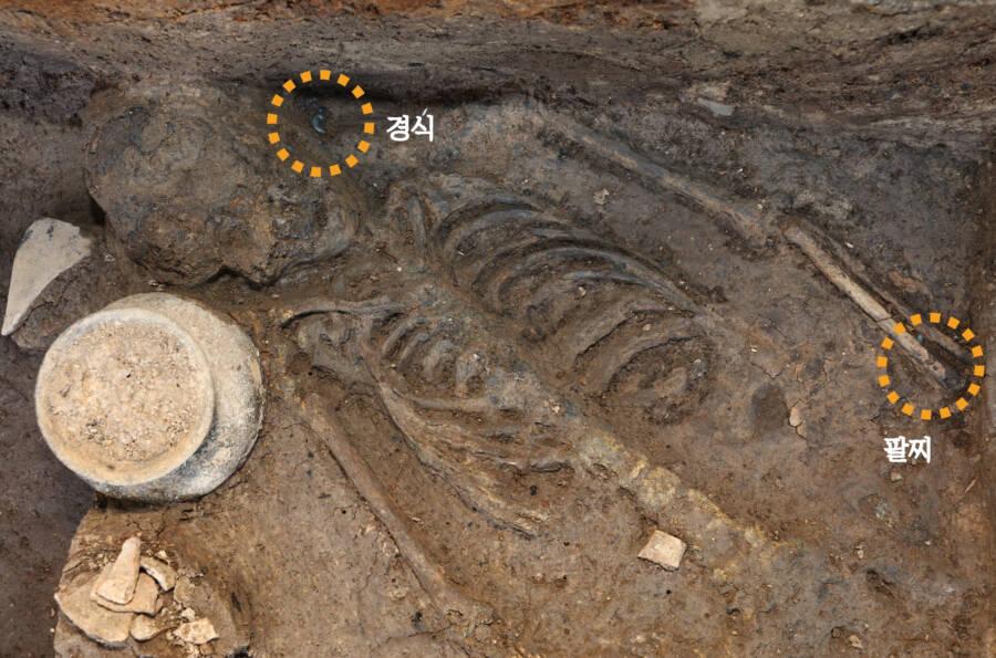 Human Remains At Wolseong Palace