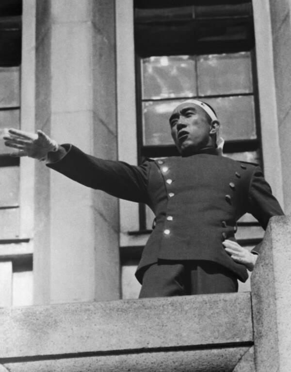 Ichigaya Balcony Speech