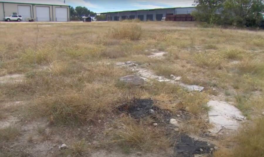 Dumpster Fire Crime Scene