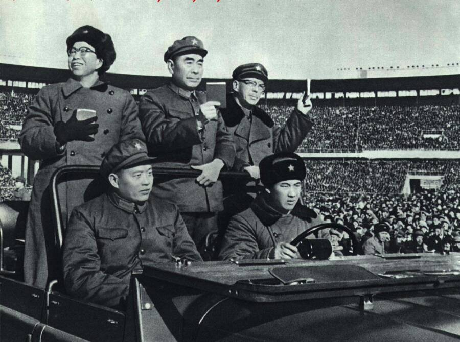 Jiang Qing Rally 1966