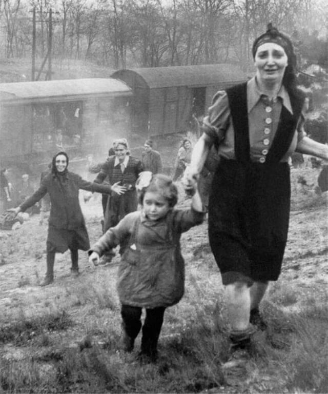 Historical Photos Liberated Jewish Prisoners