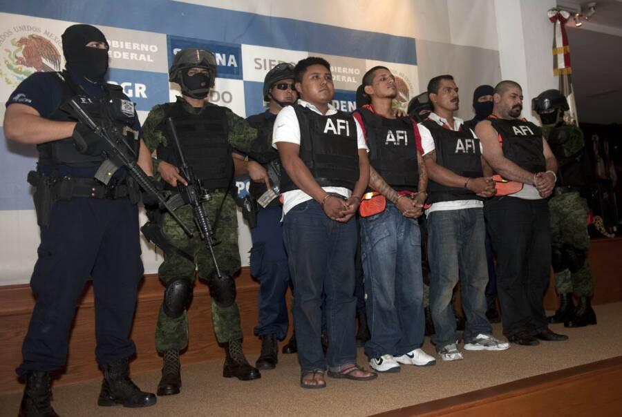 Los Zetas Cartel Members Under Arrest