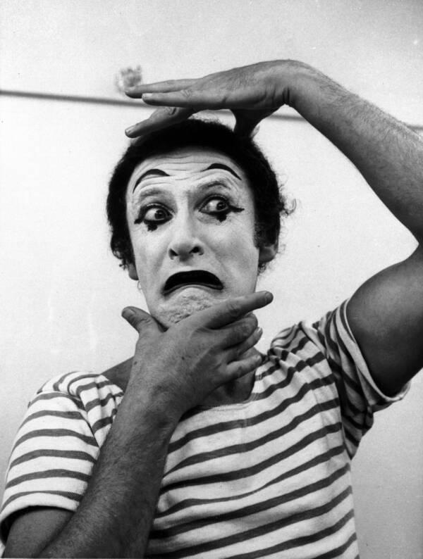 Marcel Marceau Mime