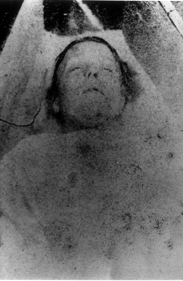 Mary Ann Nichols Death Photo