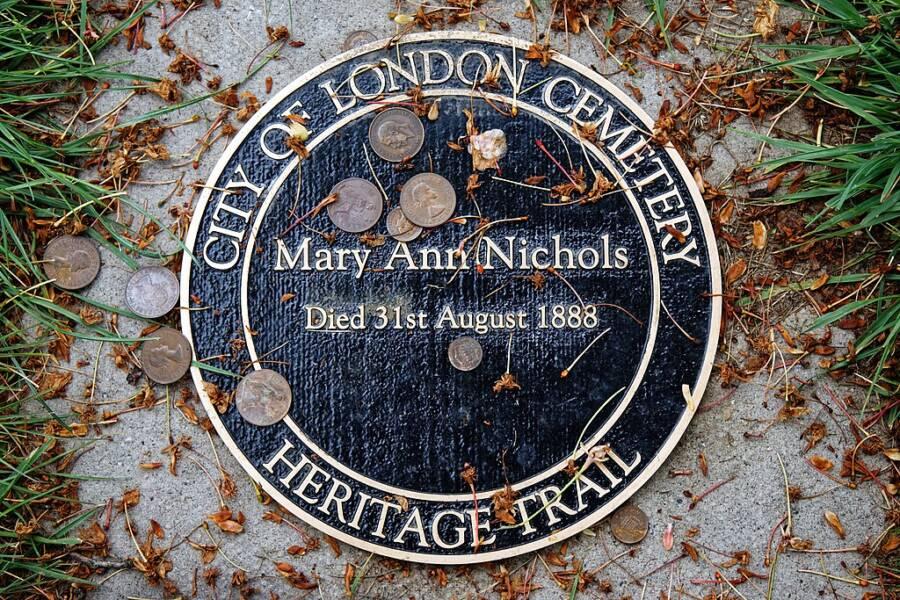 Mary Ann Nichols Grave Marker