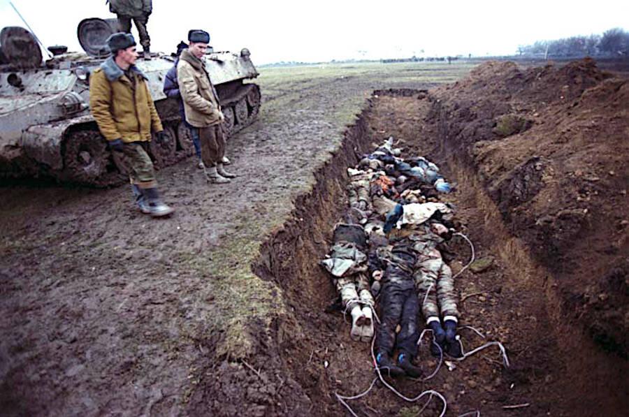 Mass Grave In Chechnya