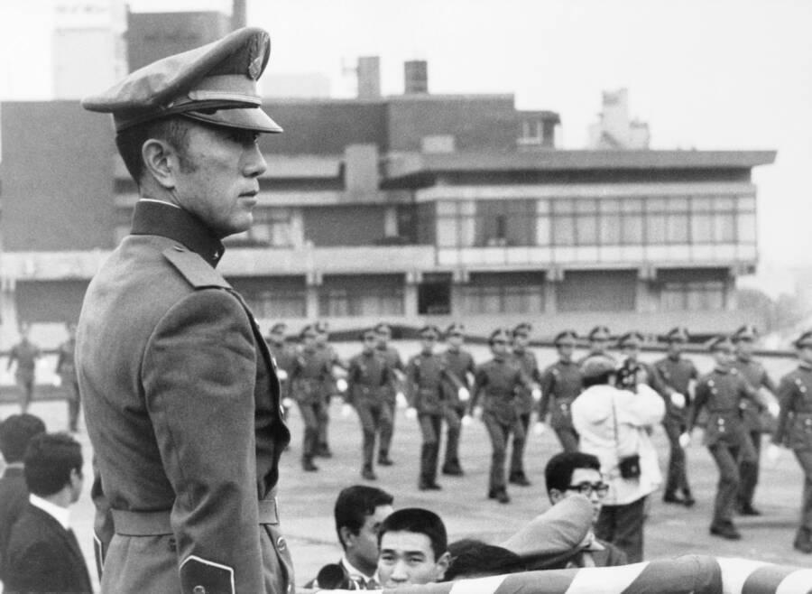 Mishima Inspecting Shield Society