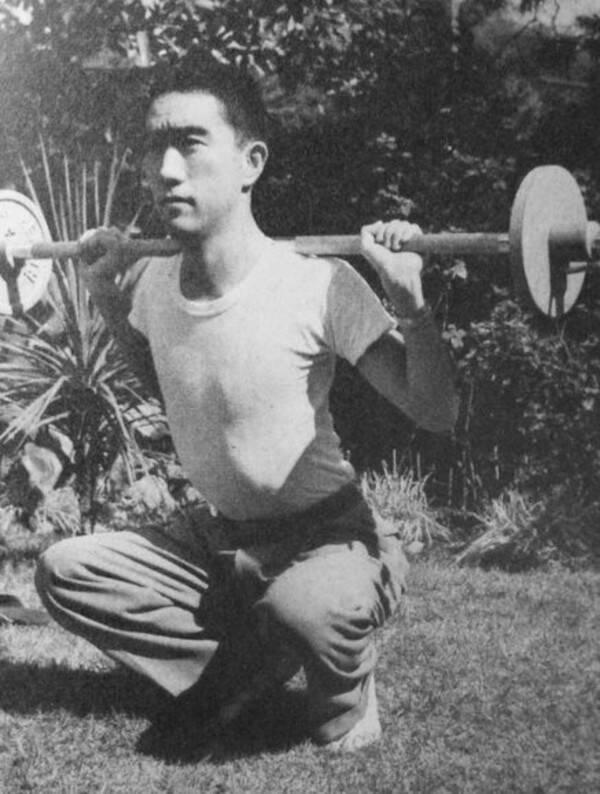 Mishima Weightlifting Training