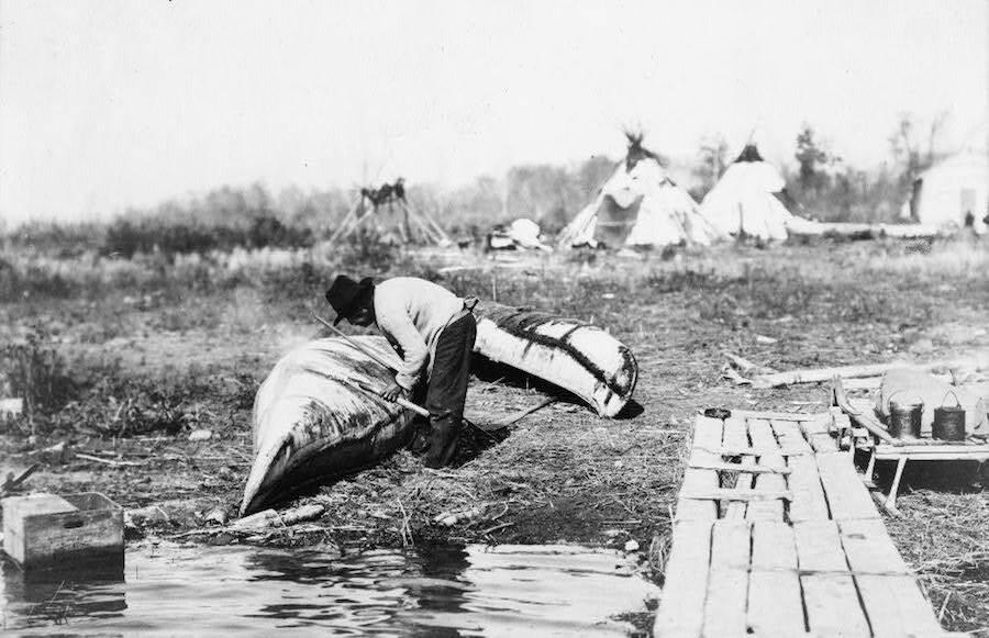 Ojibwa Camp