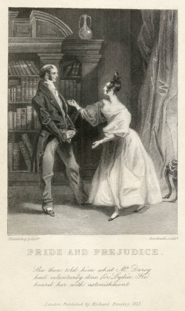 Page From Pride And Prejudice