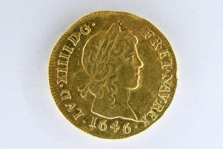 Rare Gold Coin Louis Dor