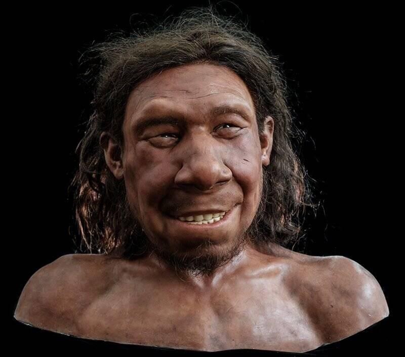 Reconstruction Of Krijn The Neanderthal