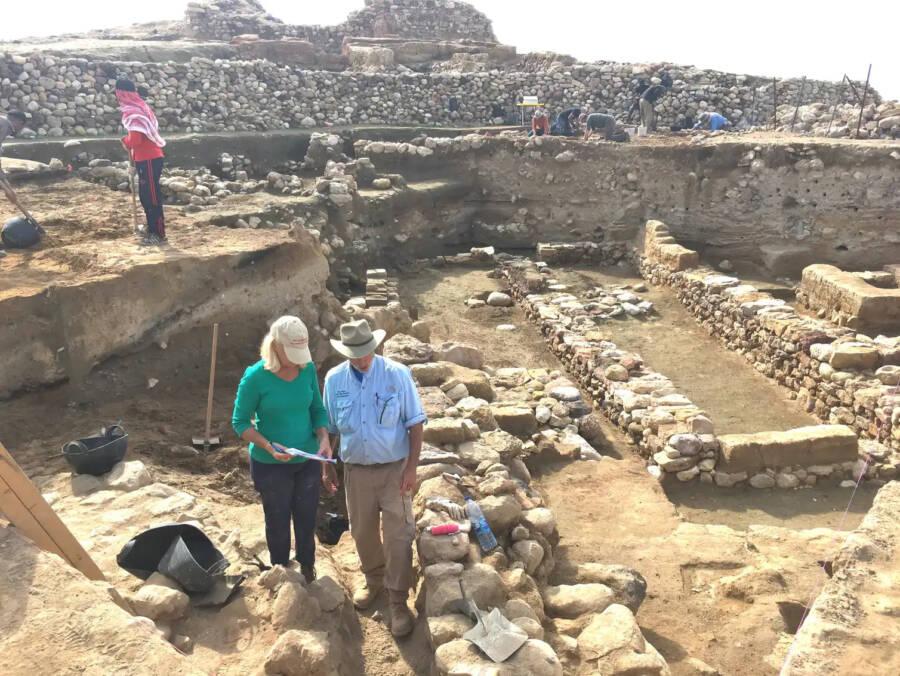 Researchers At Tall El Hammam