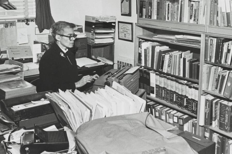 Rev Pauli Murray In Office