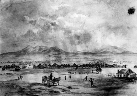 Sketch San Bernardino 1852