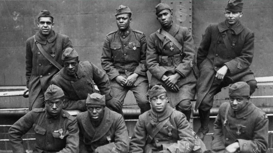 History Pictures The Harlem Hellfighters