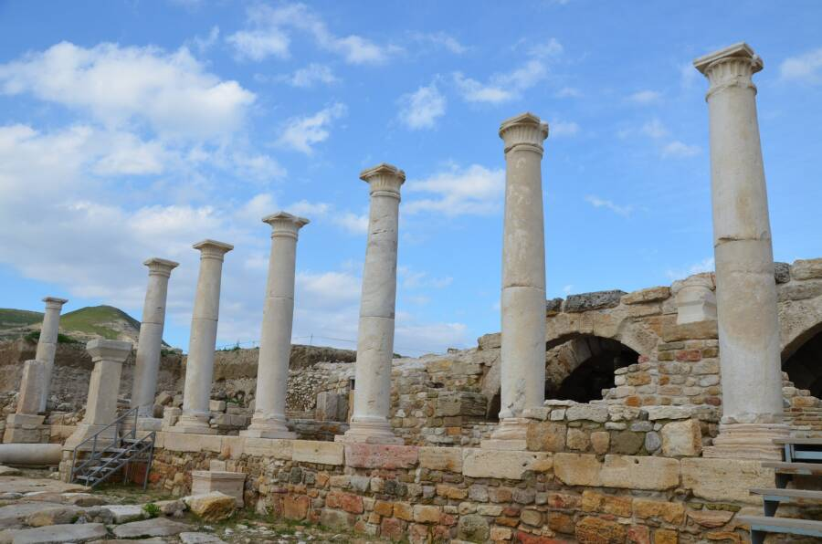 Tripolis On The Meander Ruins