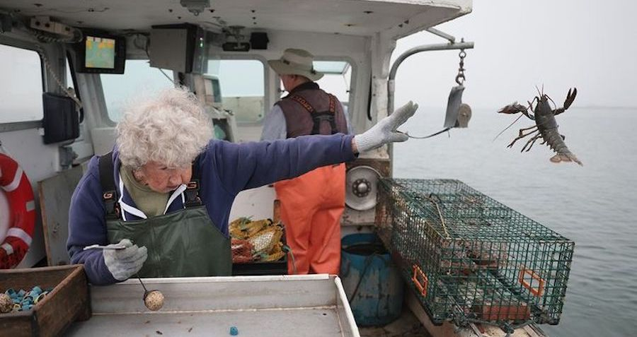 101-Year-Old Woman Who Began Trapping Lobster Before The Great Depression Has No Plans To Retire