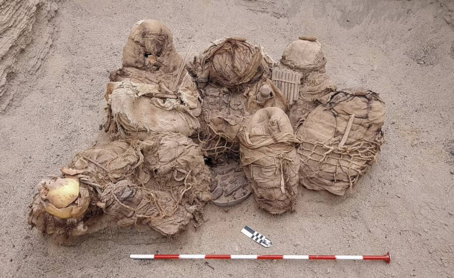 Ancient Remains Found In Chilca