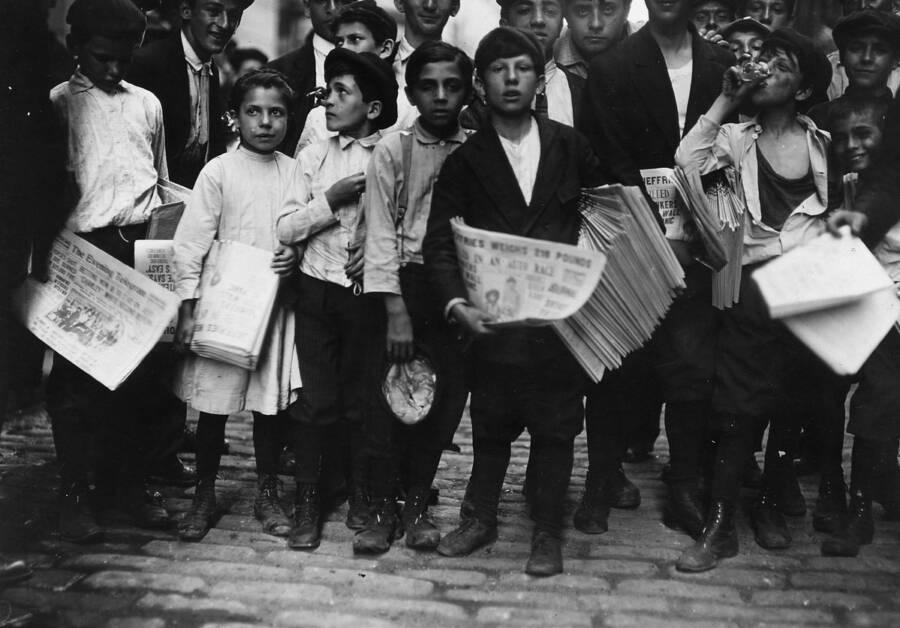 New York Newsboys Strike Of 1899