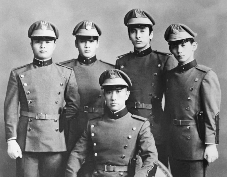 Yukio Mishima Coup Participants