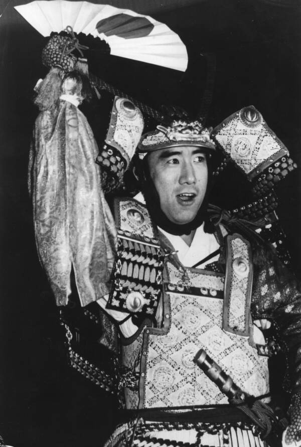 Yukio Mishima In Costume