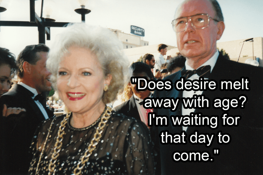 Betty White At The Emmy Awards