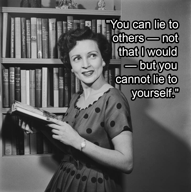 Betty White Holding A Book