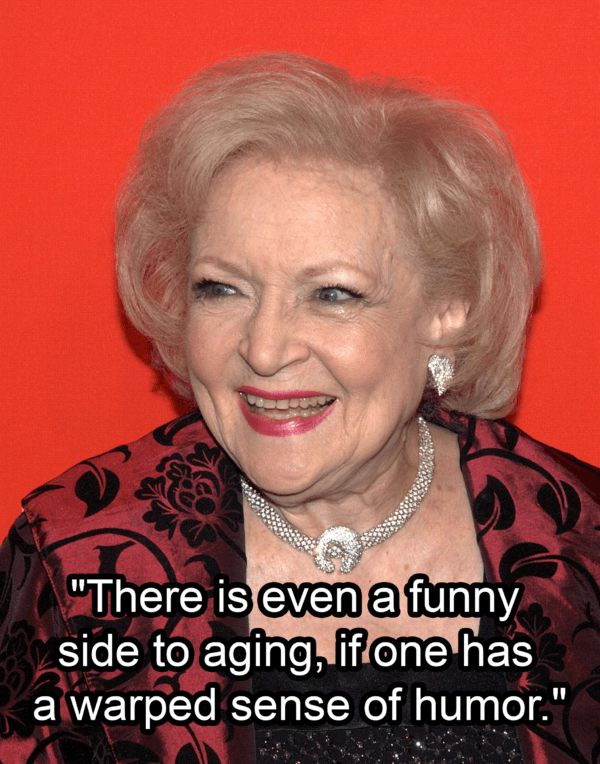 Betty White On The Red Carpet