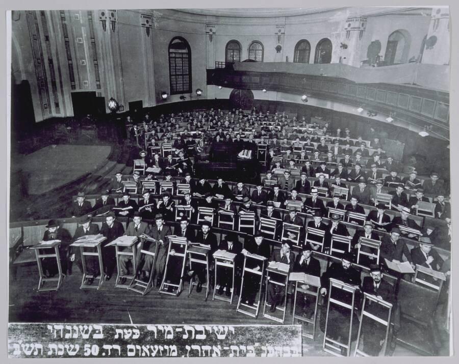 Boys In Shanghai Yeshiva