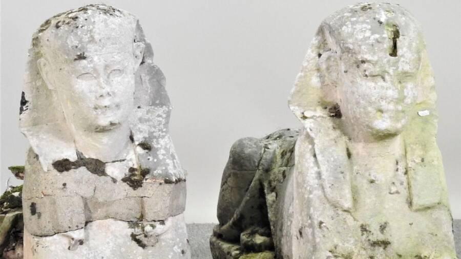 Egyptian Sphinx Garden Ornaments