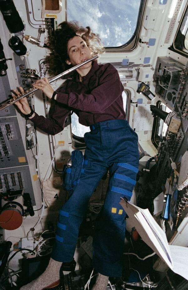 Ellen Ochoa Flute
