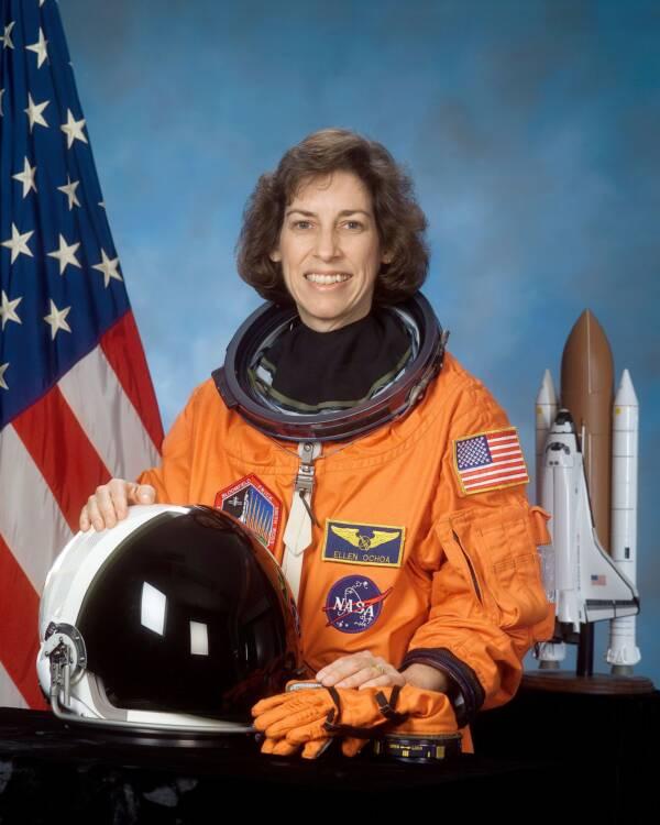 Ellen Ochoa NASA Portrait