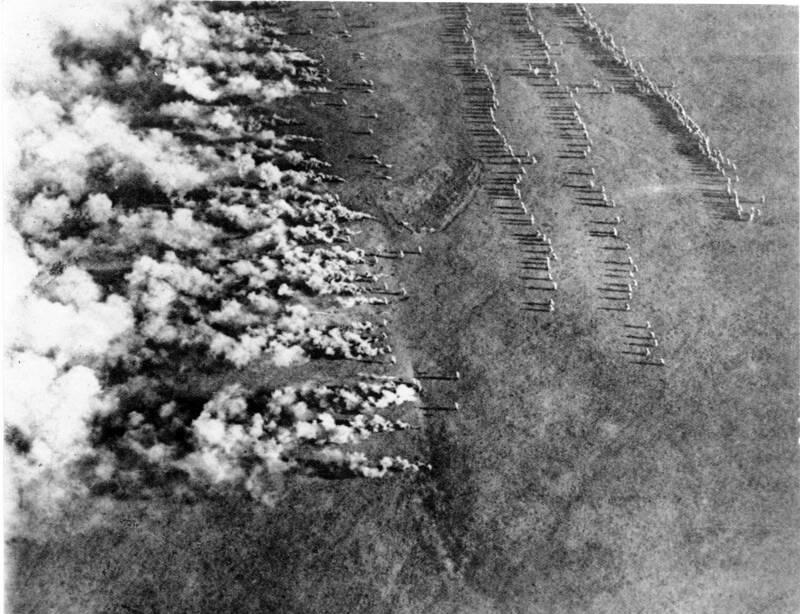 German Gas Attack