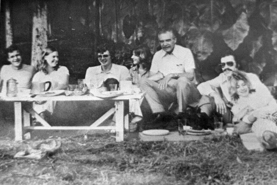 Josef Mengele With His Family