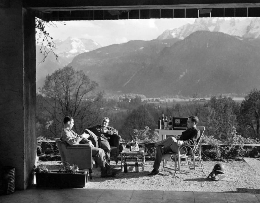 Major Dick Winters In Austria