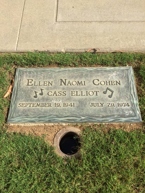 Mama Cass Elliot Grave